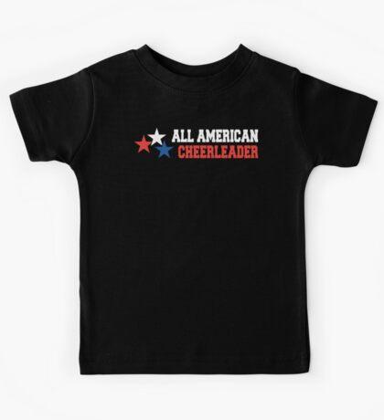 All American Cheerleader Kids Tee