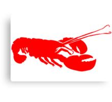 Lobster Outline Canvas Print