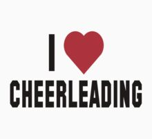 I Love Cheerleading by SportsT-Shirts