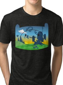Adventure Time Tri-blend T-Shirt