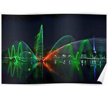 Laser Light Show #1 Poster