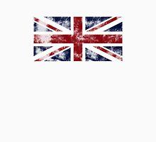 UK Flag - worn Unisex T-Shirt