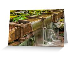Roaring Fork - Tub Mill  Greeting Card