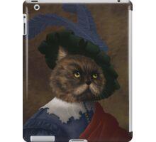 Fancy flat faced Cat Portrait  iPad Case/Skin