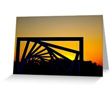 High Trestle Bridge Over the Des Moines River Valley Greeting Card