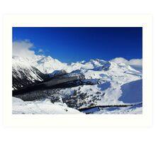 Garibaldi Provincial Park mountains Art Print