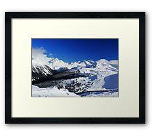 Garibaldi Provincial Park mountains Framed Print