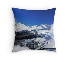 Garibaldi Provincial Park mountains Throw Pillow