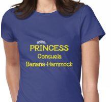 Princess Consuela Banana-Hammock - Yellow Womens Fitted T-Shirt