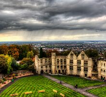 Dudley Castle's Courtyard England by Blitzer