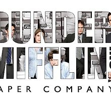 the office under mifflin paper company logo by Emily Grimaldi