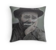 Weary Willy Throw Pillow