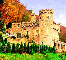 Berkeley Castle by jkgiarratano