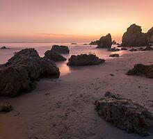 Sunset on the Malibu Coastline, California. by Graham Gilmore