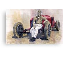 Alfa Romeo Monza Tazio Nuvolari 1932 Canvas Print