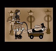 Steam Punk Sausage Dog by Diana-Lee Saville