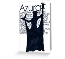 Azura - DAEDRIC PRINCE Greeting Card