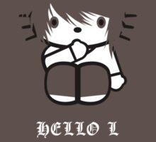 Hello L by Crocktees