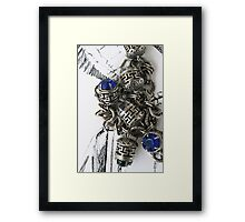 """Day 54   365 Day Creative Project  """"Silver & Graphite"""" Framed Print"""