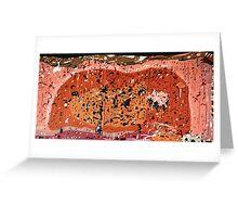 Longford Landscape DNA. Greeting Card