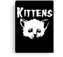 Goth Kittens Canvas Print