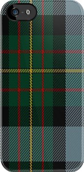 00306 Big Sur MacLaren Tartan Fabric Print Iphone Case by Detnecs2013