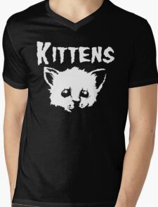 Goth Kittens Mens V-Neck T-Shirt