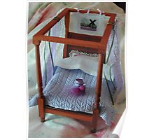 Four Poster in Miniature : 1/12th scale Poster