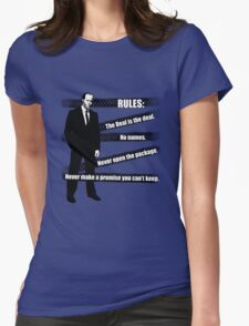 Rules of Transport Womens Fitted T-Shirt