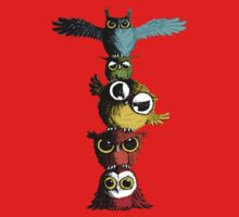 Totem of Owls Baby Tee