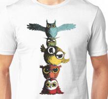 Totem of Owls Unisex T-Shirt