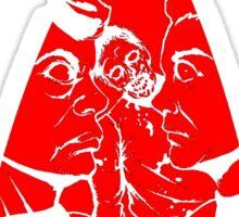 The Walking Red... Shirts (Version 2)   Sticker