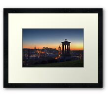 That View Of Edinburgh Framed Print
