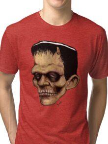 The Frankenstein Monster Tri-blend T-Shirt
