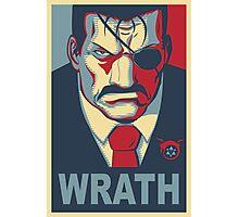 Wrath - Vote For King Bradley Photographic Print