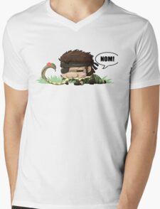 Chibi Snake Eater Mens V-Neck T-Shirt