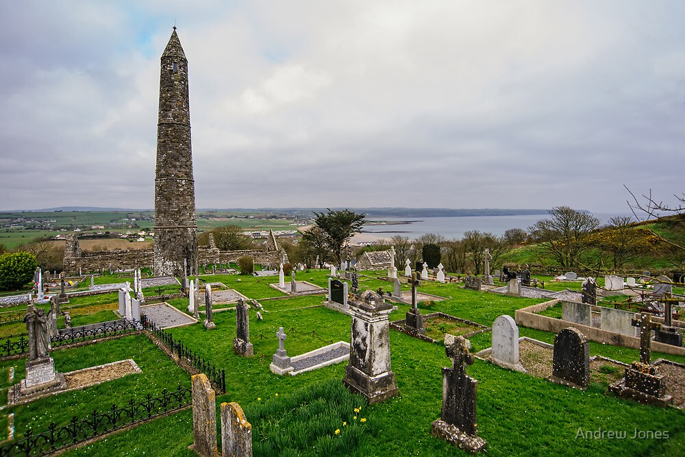 Ardmore Round Tower, County Waterford, Ireland by Andrew Jones