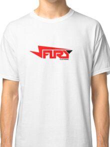 FURY CLOTHING RED/BLACK Classic T-Shirt