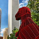 Dinosaur in the City by Barbara  Brown