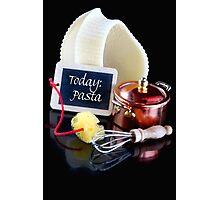 Today..........Pasta! Photographic Print