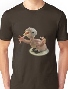 Baby bird with arms Unisex T-Shirt
