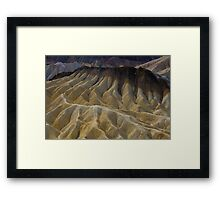 Zabriskie Point 1 Framed Print