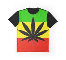 Rasta Pot Graphic T-Shirt