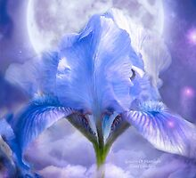 Iris - Goddess Of Moonlight by Carol  Cavalaris