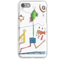 Mixed Media, Color iPhone Case/Skin