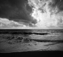 Moody Sea by Inez Wijker