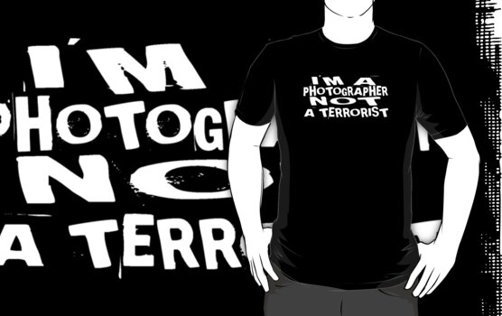 I'm a photographer not a terrorist by Charles Oliver