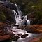 Bakers Fall II. Horton Plains National Park. Sri Lanka by JennyRainbow