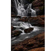 Bakers Fall I. Horton Plains National Park. Sri Lanka Photographic Print