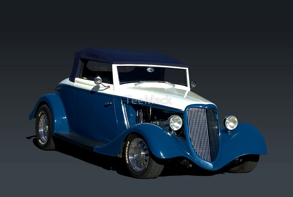 1934 Ford Roadster Custom Hot Rod by TeeMack